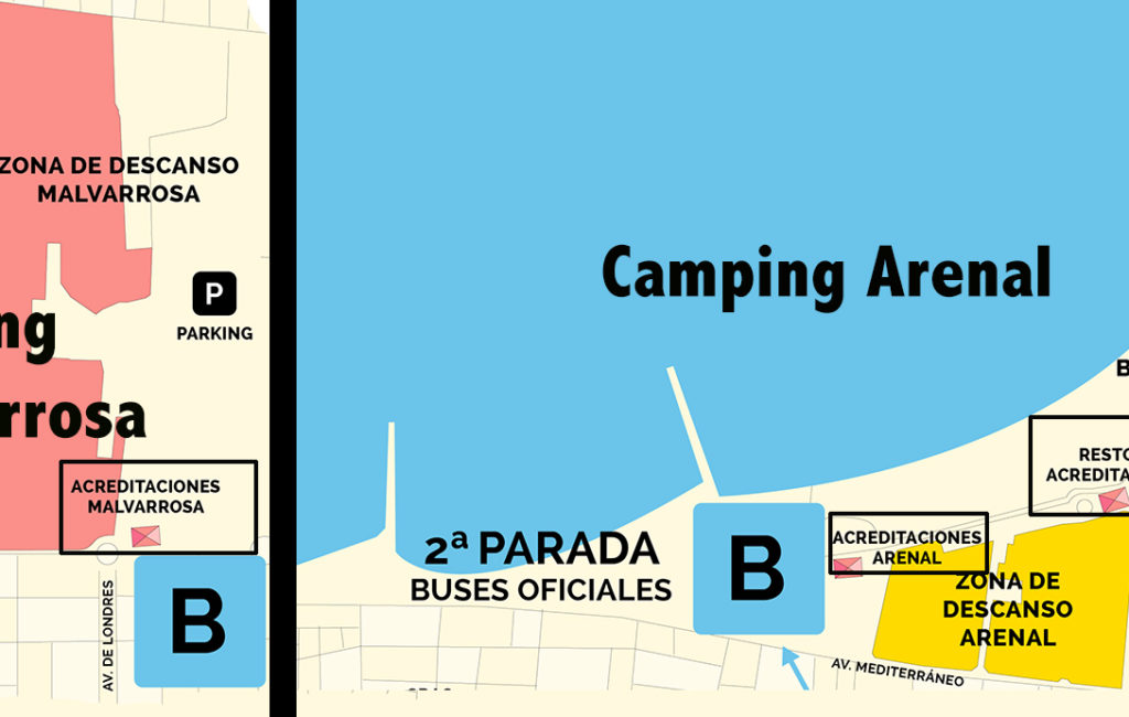 Arenal Sound camping