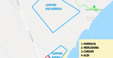camping arenal sound